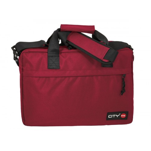 ΤΣΑΝΤΑ LAPTOP CITY SANGRIA RED
