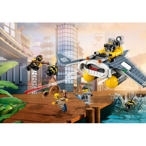 Lego NinjaGo: Movie Manta Ray Bomber 70609
