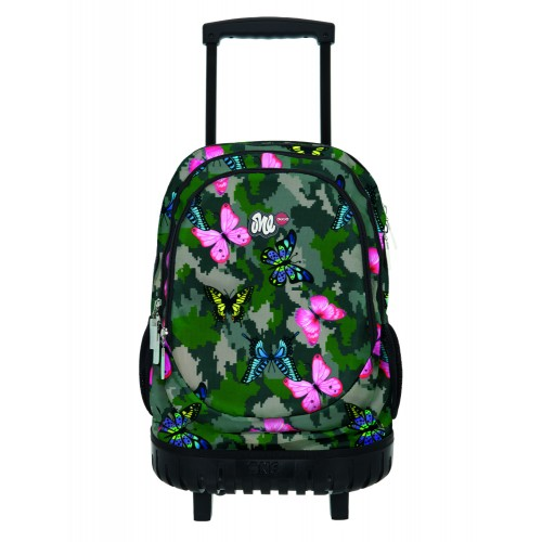 ΤΣΑΝΤΑ LYCSAC TROLEY GIRLY CAMO LINE
