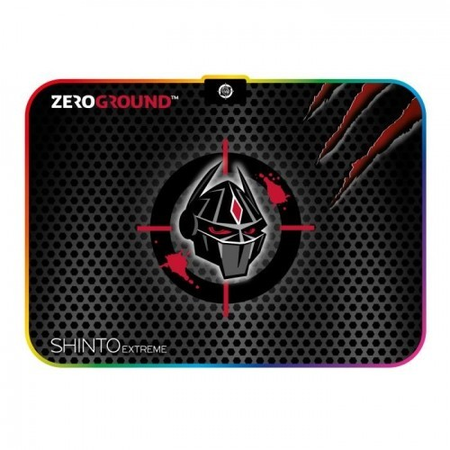 Zeroground MP-1900G SHINTO Extreme V2.0 RGB lighting Gaming Mousepad 350x250mm