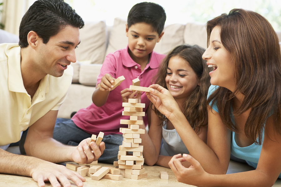 bigstock-Family-Playing-Game-Together-A-
